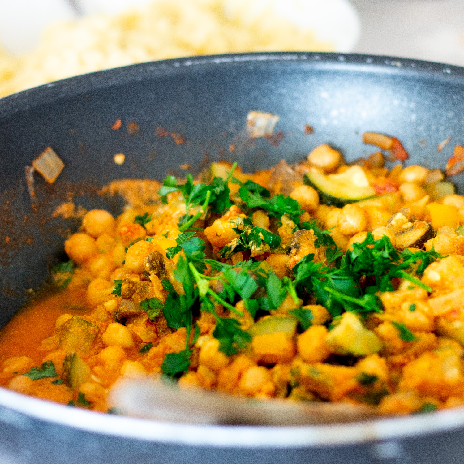 Chickpea Moroccan Stew
