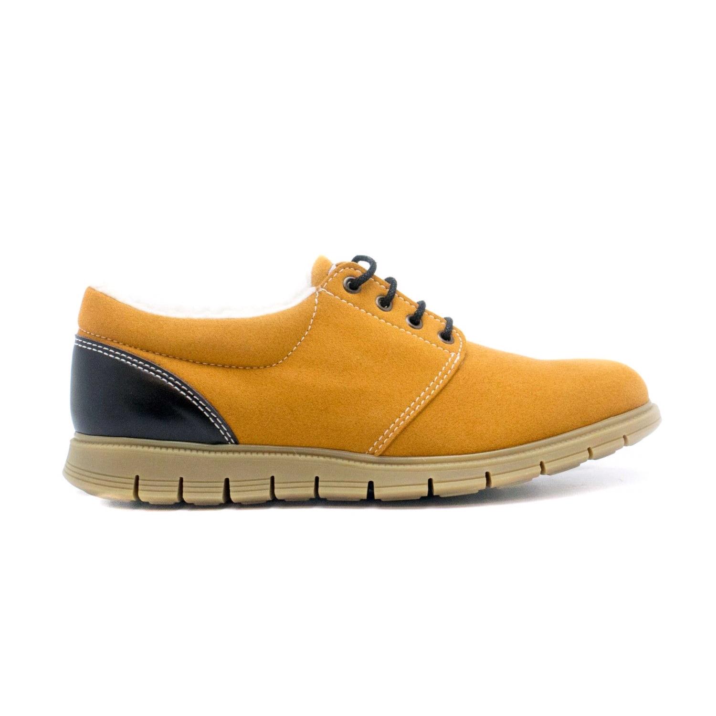 NAE Vegan Camel Flat Shoe