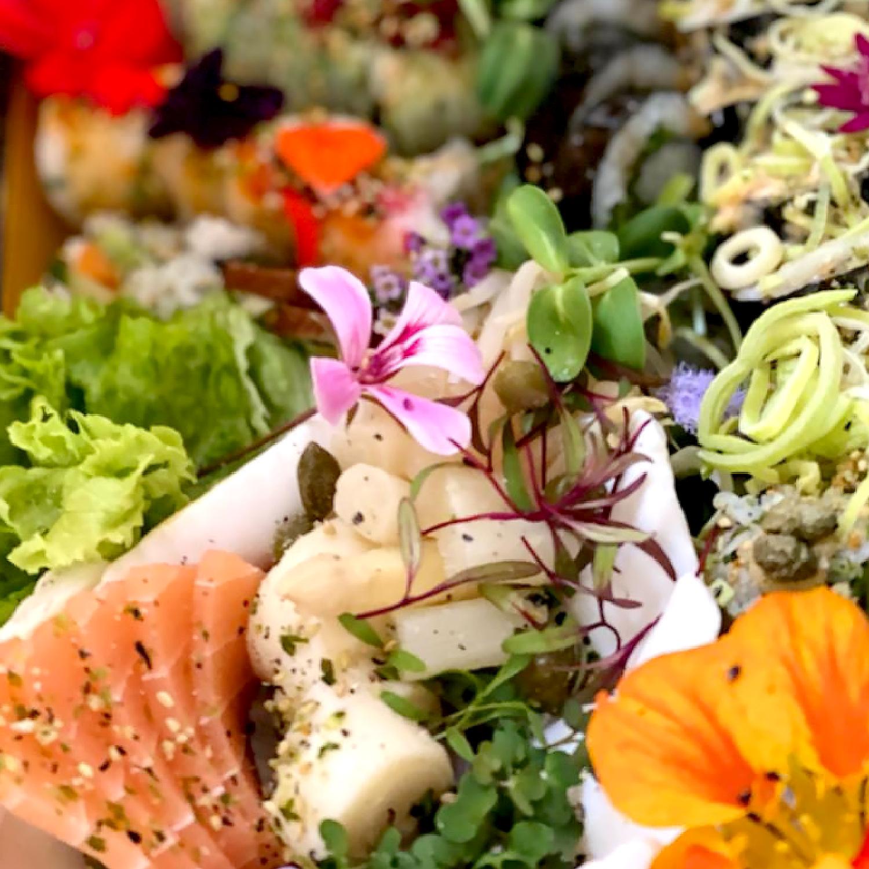 Legumi Sushi Takeway Menu for 2