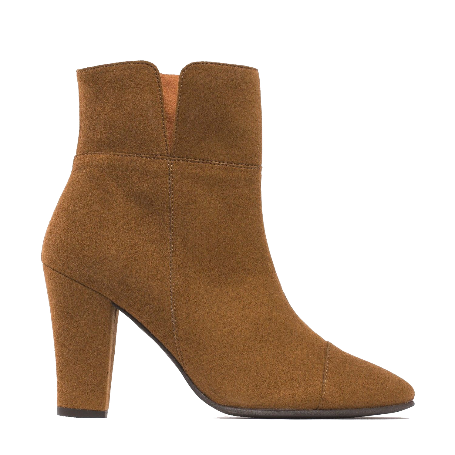 NAE Vegan Ankle Boots Bline Brown