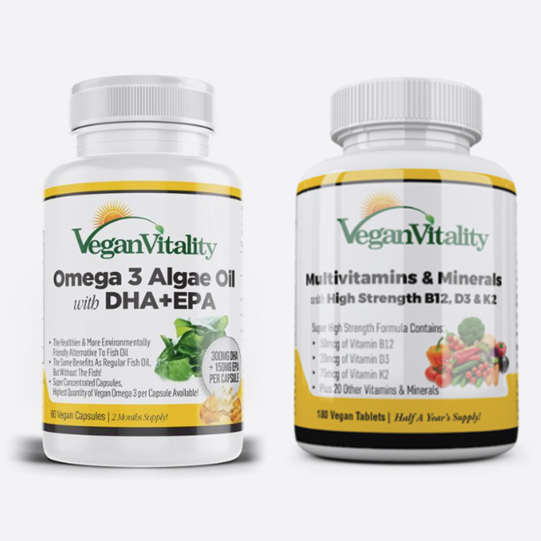 Vegan Vitality - Essential Vegan Supplements