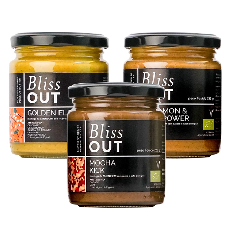 Blissout Bundle - Nutrient dense peanut butters