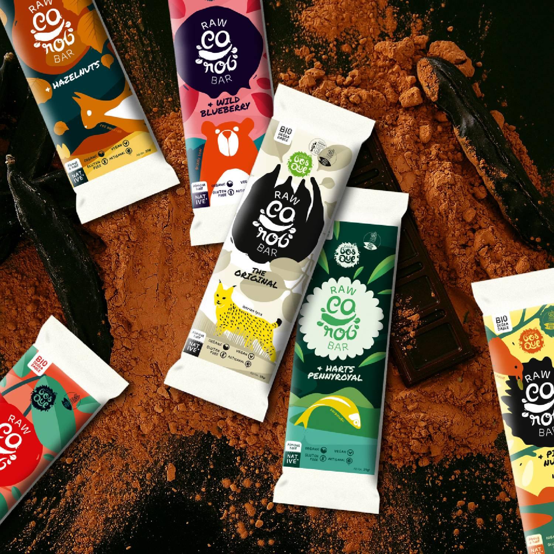 6-Pack Casa do Bosque Raw Carob Chocolates