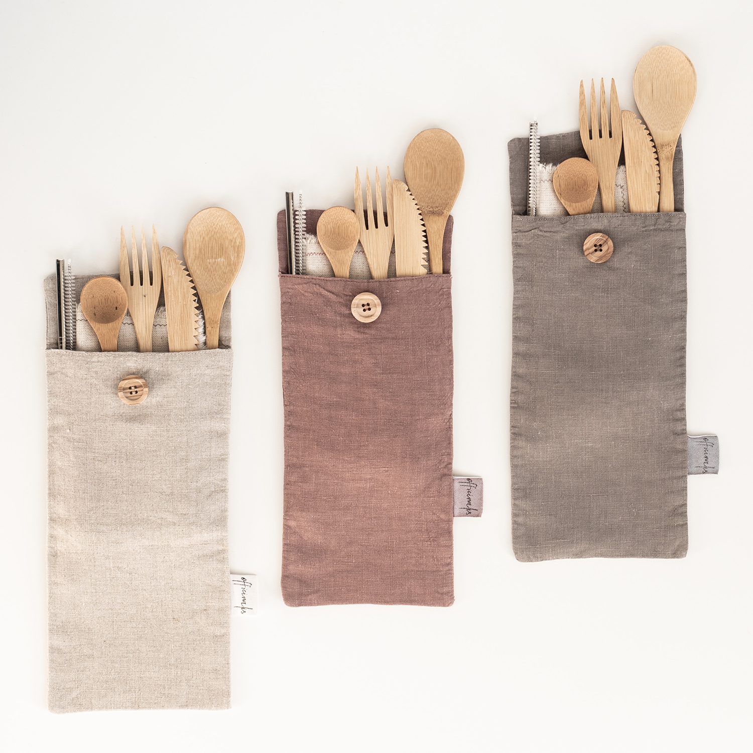 Officinalis Cutlery & Straw set